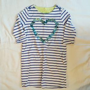 Crazy 8's cotton striped dress